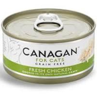 CANAGAN 無穀物 鮮雞肉貓罐頭75g