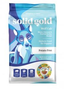 由於中大型犬所需的營養要求與小型犬不同,Solid Gold 中大型幼犬配方就特別為中大型幼犬而研製 有助促進關節健康及肌肉正常生長,亦有助預防敏感的情況出現.  -適合中大型幼犬食用 -含高蛋白質的野生牛肉 -促進關節健康及肌肉正常生長