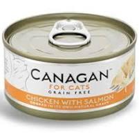 成分表: 雞肉(59%),雞湯 (33%),三文魚(5%),木薯(3%)  成分分析: 水份:80.00% 粗蛋白:18.00% 粗脂肪:0.50% 灰質:1.00% 粗纖維:0.10%
