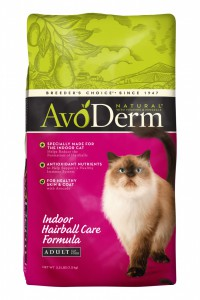 AvoDerm 室內貓 去毛球配方貓糧 6磅