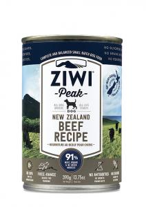 Ingredients 成分  牛肉,水,牛肺,牛腎,牛草胃, 鷹嘴豆,牛肝, 新西蘭綠唇貽貝, 牛骨,卵磷脂,礦物質,海帶乾, 鹽,維他命