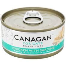 成分表: 雞肉(58%),雞湯 (32%),沙甸魚(5%),木薯、葵花籽油、維他命及礦物質(5%)  成分分析: 水份:77% 粗蛋白:19% 粗脂肪:1.2% 灰質:1.3% 粗纖維:0.05%