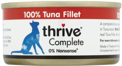 -全面營養 -不含小麥/麵筋 -易於消化 -單獨飼餵或與Thrive PremiumPlus乾糧一起食用 -不含防腐劑 -無填料或人工膠凝劑 -無添加色素 -無添加糖 -無人工香料
