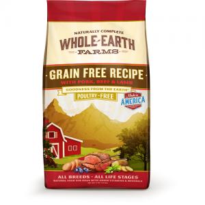 -首要蛋白質含26%  -天然營養 -不含家禽配方 -特選蛋白來自豬,牛及羊肉 -無穀物配方有助敏感腸胃 -不含中國原材料  -美國製造